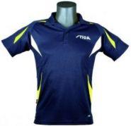 Теннисная рубашка Stiga Style (сине-желтый)