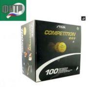 Мячи Stiga Competition *** белые (100 шт.)