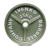 OM-20KG Шлифованный диск IVANKO покрытый молотковой эмалью