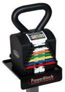 Гиря наборная Power Block 3,5 - 18 кг