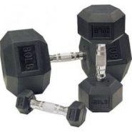 Гантельный ряд Body-Solid SDRS550 (10 пар от 2,25 кг до 22,5 кг с шагом 2,25 кг)