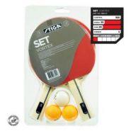 Набор Stiga Vortex, 2 ракетки+3 мяча+сетка