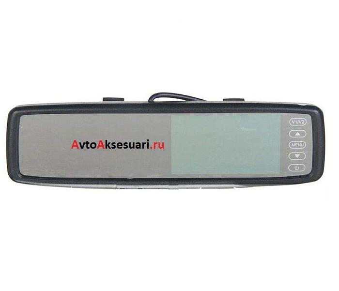 Монитор зеркало 4.3 дюйма - DX + Bluetooth