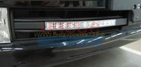 Дневные ходовые огни в штатные места  для Toyota Land Cruiser 200 2008