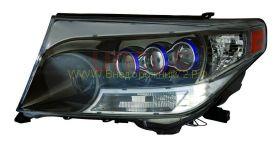 Передняя альтернативная оптика  (Тип 1) для Toyota Land Cruiser 200 2008 -