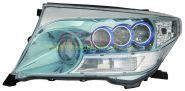 Передняя альтернативная оптика  (Тип 2) для Toyota Land Cruiser 200 2008 -
