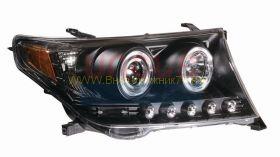Передняя альтернативная оптика  (Тип 4) для Toyota Land Cruiser 200 2008 -