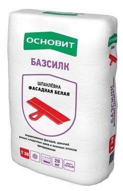 Основит Т-30 БАЗСИЛК Шпатлевка цементная базовая (20 кг)