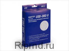 Адаптер K-LINE (USB - OBD II) чип FTDI