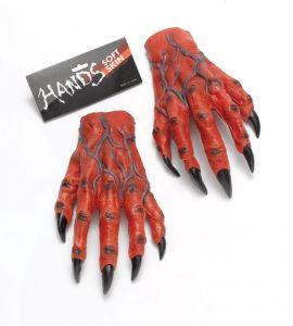 Руки-перчатки красные ужасные