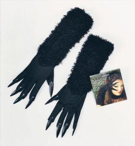 Перчатки кошки с когтями