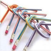 3 х Красочных экстремально гибких карандаша
