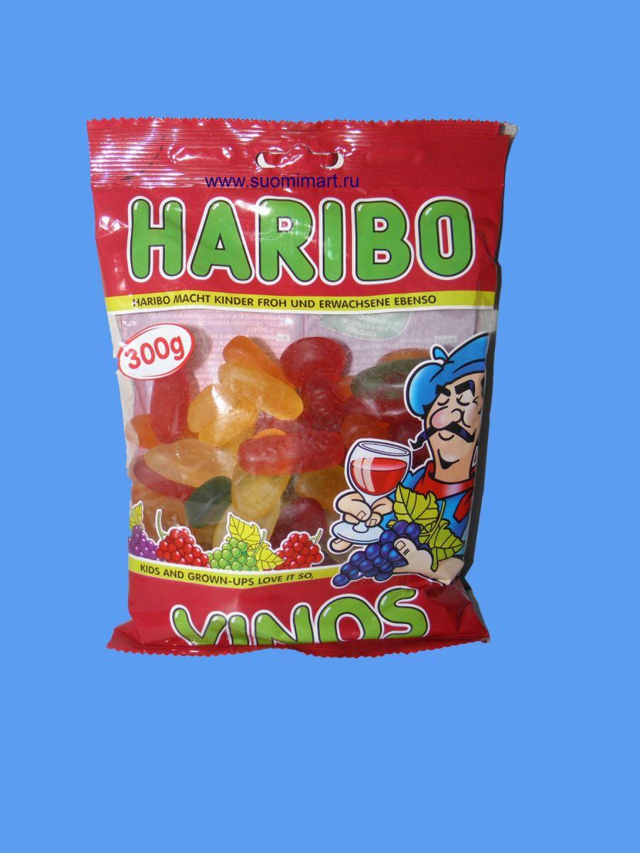 Жевательные конфеты Haribo Vinos (Ягоды) 300г