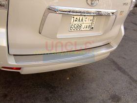 Накладка на задний бампер (Тип 1) для Toyota Land Cruiser Prado 150