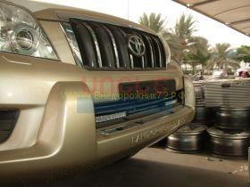 Дневные ходовые огни в штатные места  для Toyota Land Cruiser Prado 150 2010