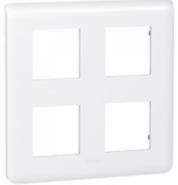 Рамка Legrand Mosaic 2X2X2 модуля (арт.78838)