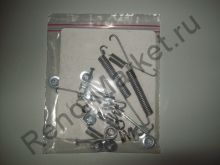 Рем. комплект задних тормозных колодок (Logan) Delphi LY1180 аналог 7701208856