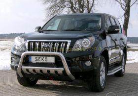 Защита переднего бампера 60 мм с пластинами (491210) для Toyota Land Cruiser Prado 150 2010