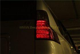 Задняя альтернативная оптика диодная Lexus Затемненные (Тип 5) для Toyota Land Cruiser Prado 150