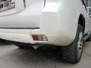 """Задние противотуманные фары стиль """"Lexus"""" для Toyota Land Cruiser Prado 150"""