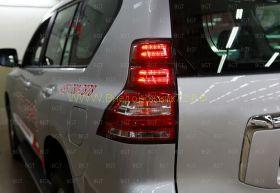 Задняя альтернативная оптика диодная (Тип 7) для Toyota Land Cruiser Prado 150