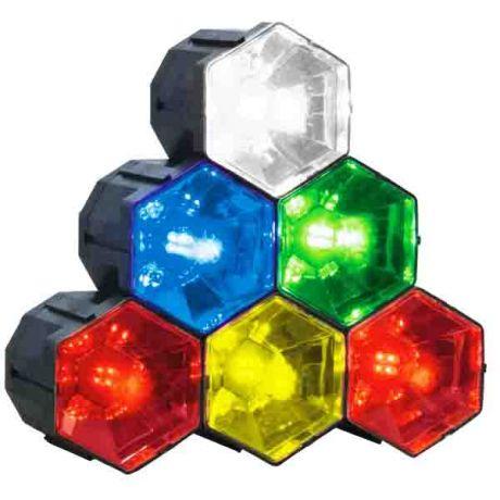 Шесть светодиодных блоков