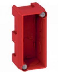 Монтажная коробка Legrand Batibox 1/2п.гл.40мм для кирпичных стен (Арт. 80140)