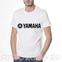 Футболка логотип Yamaha