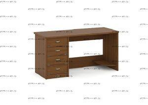 Стол письменный Корвет 52.501.00 (152х62х76)
