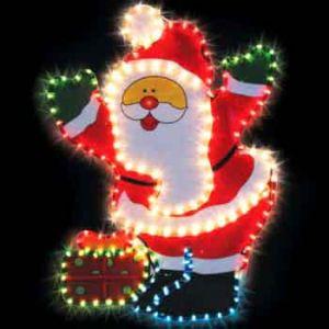 "Фигура ""Дед Мороз с подарком"""