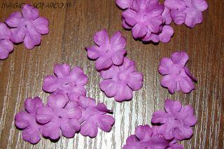 """Цветочки """"Фиолетовое цветение"""" (маленькие)"""