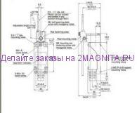 Концевой выключатель KZ-8107 Al