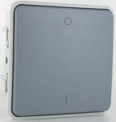 Выключатель двухполюсный Legrand Plexo IP55 серый (арт.69530)