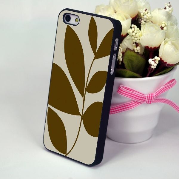"Панель-накладка для iPhone 4, 4S ""Sprig"""