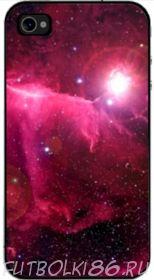 Чехол для смартфона с рисунком Космос арт.04