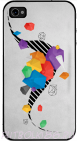 Чехол для смартфона с рисунком Абстракт арт.01