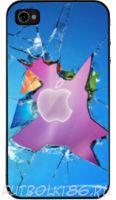 Чехол для смартфона с рисунком Абстракт арт.06