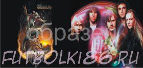 Кружка с изображением Рок-музыкантов. арт.103
