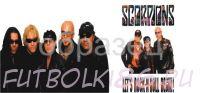 Кружка с изображением Рок-музыкантов. арт.445