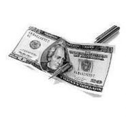 Ручка сквозь банкноту - Deluxe