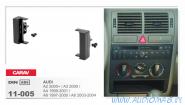 Carav 11-005 (1-DIN AUDI A2 2000+ / A3 2000 / A4 1999-2001 / A6 1997-2000 / A6 2003-2004)