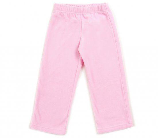 Флисовые брюки для девочки