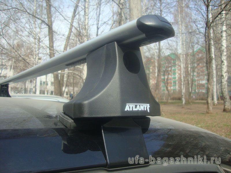Багажник на крышу Chevrolet Aveo, Атлант, аэродинамические дуги