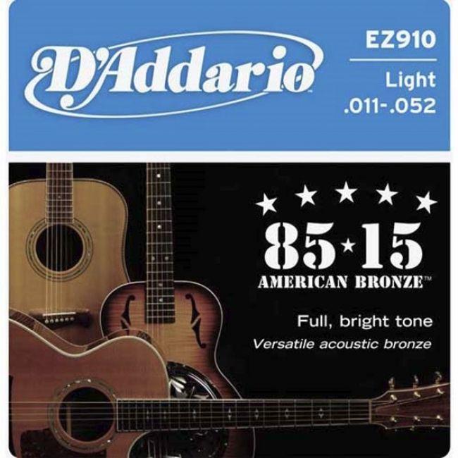 D`ADDARIO EZ910 (11-50) Струны для акустической гитары