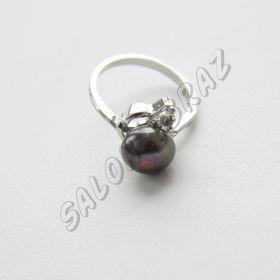 Кольцо жемчуг КО-003