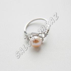 Кольцо жемчуг КО-006