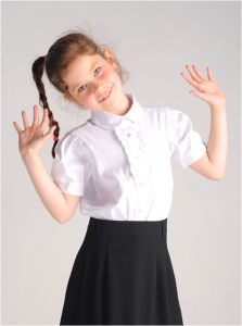 Блузка для девочки Крокид ТК38011