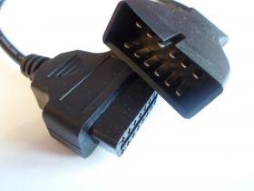 Переходник ВАЗ GM 12 Pin на OBD1 OBD2 16 Pin