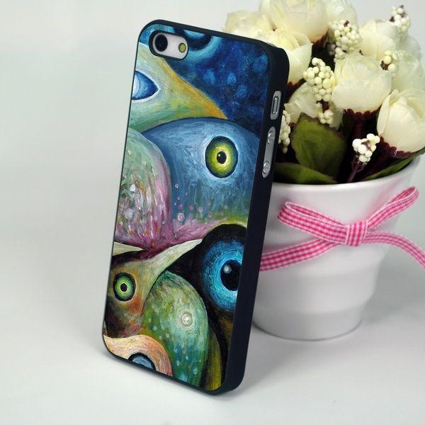 "Чехол для iPhone 4, 4S ""Abstract Birds"""