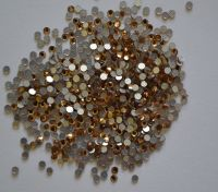 Камни Swarovski коричневые  (размер #5) - 100 штук